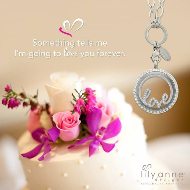 {Something tells me I'm going to love you forever} www.lilyannedesigns.com.au #LilyAnneDesigns #PersonalisedLockets #Love