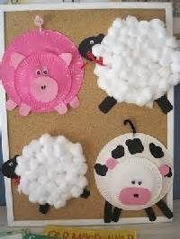 old macdonald had a farm crafts - Bing Images