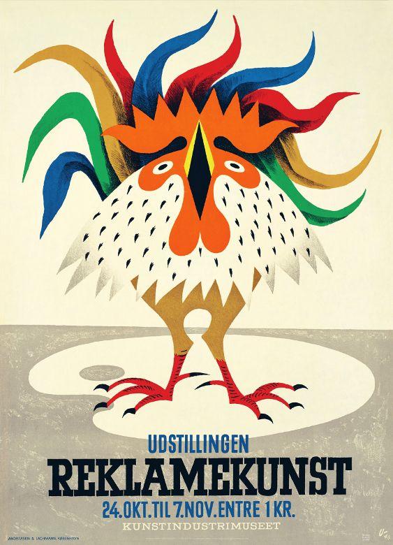 Dansk Reklamekunst (1945) Kunstner: Arne Ungermann
