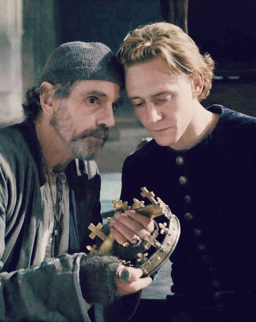 Jeremy Irons and Tom Hiddleston in The Hollow Crown. This was one that I kept on my DVR.