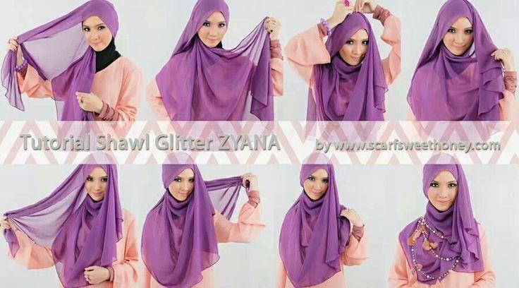 Hijab (tudung) tutorial