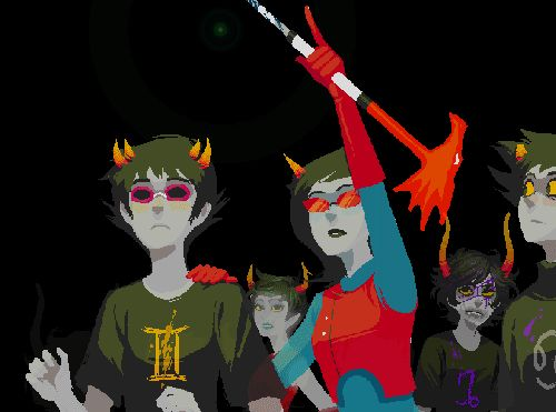 homestuck funny gifs | Homestuck Gif Meme thing. Karkat being helpful ^__^ what a cute <3