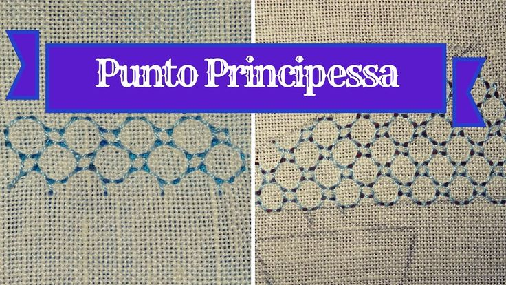 RICAMO - Punto Principessa