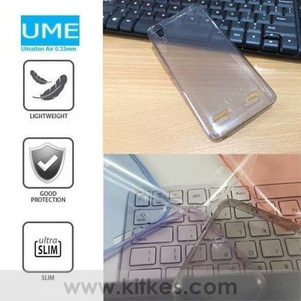 Ume UltraThin Air 0.3mm Soft Case Lenovo A6000 - Lenovo K3 - Rp 80.000 - kitkes.com