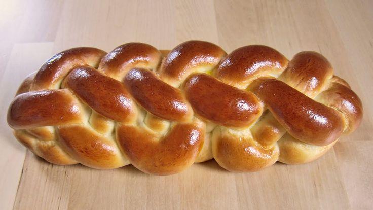 Wiener Sechsstrangzopf / 6-Strangzopf flechten