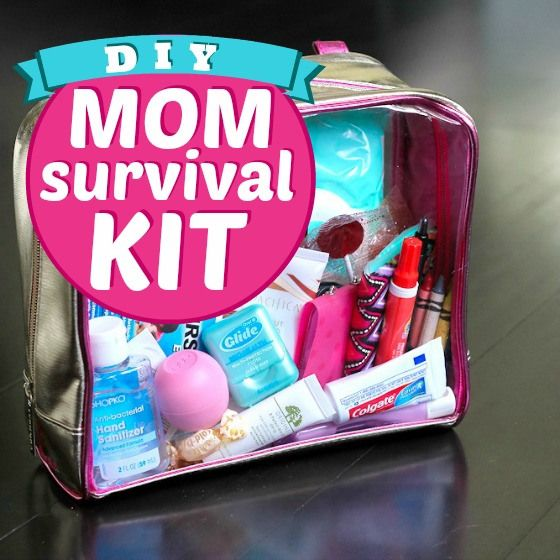 Daily Mom » DIY Mom Survival Kit