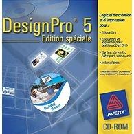 Avery Design Pro, logiciel gratuit etiquette, carte de visite, intercalaire - AVERY
