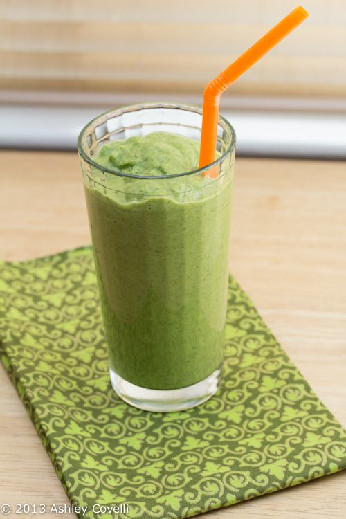 ve been wanting to try out making green smoothies for a while now ...