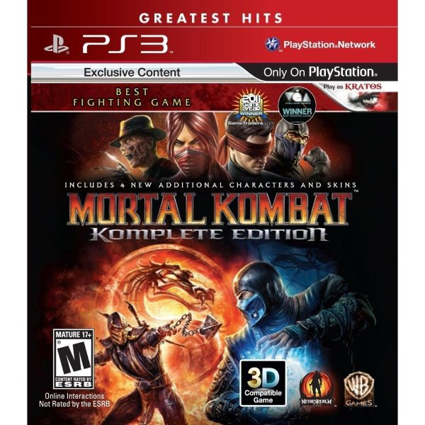 Format: PlayStation 3 Region: Region Free Language: English Edition: Greatest Hits Condition: Brand New Description Prepare yourself to reenter the tournament in the triumphant return of Mortal Kombat