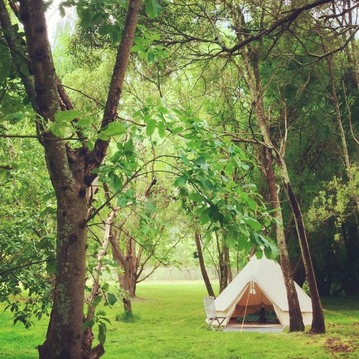 Bell tent hire, Happy Glamper Melbourne
