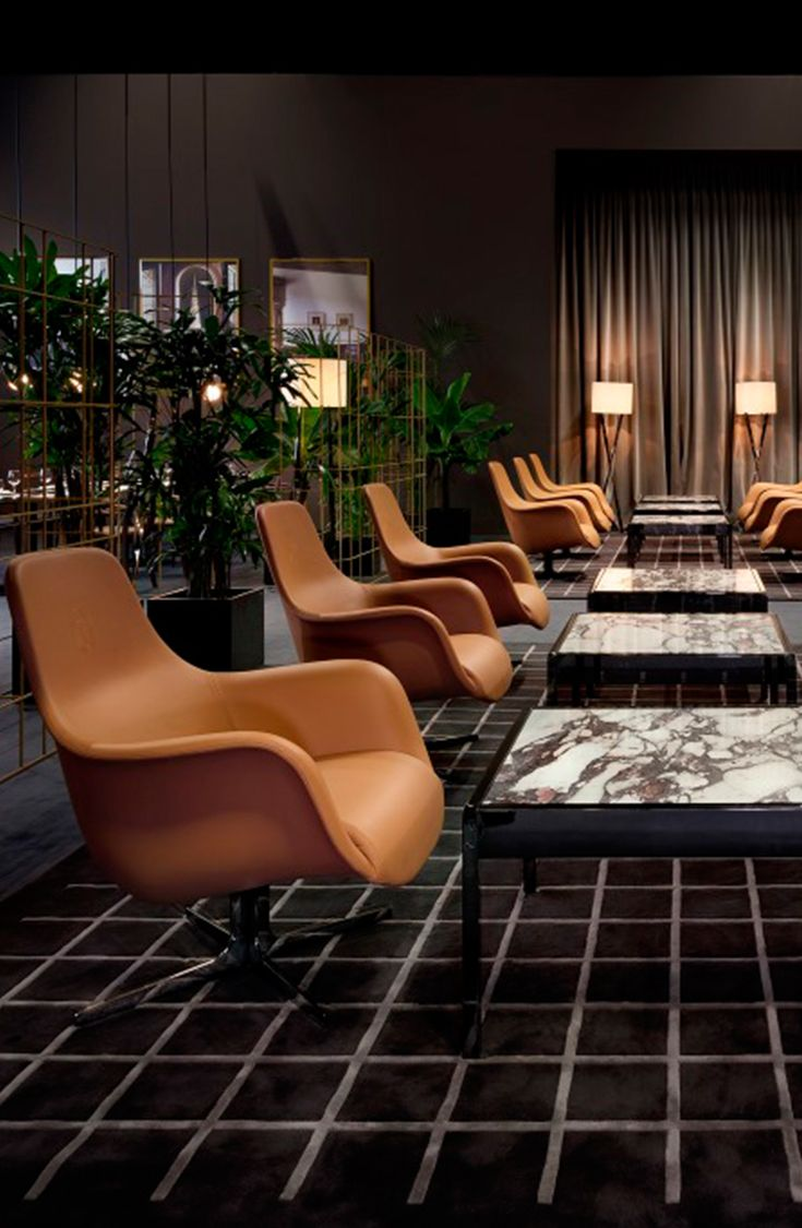 Cafè Trussardi design concept by Luxury Living Group and Architect by Carlo Colombo at IMM Cologne 2015