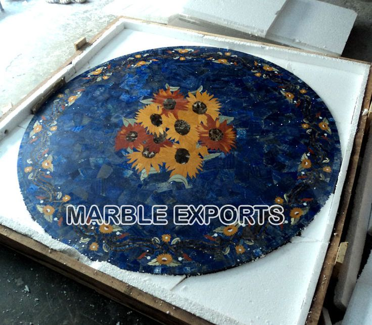91 best Round pietra Dura marble inlay dinning table top images on