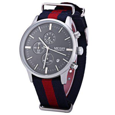 MEGIR M2011 Relógio de Quartzo para Macho -€18.62 Compras Online| GearBest PT