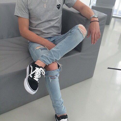 Calça Rasgada Masculina (Destroyed Jeans), pra inspirar!