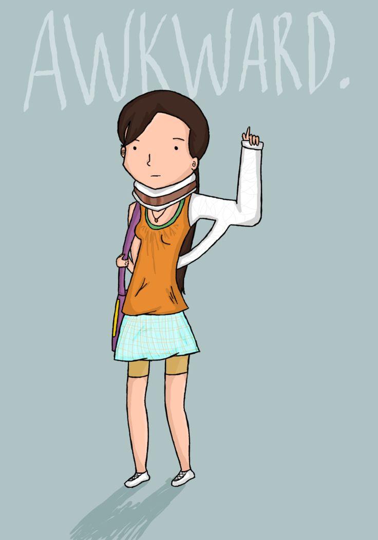 MTV's Awkward. I´m sorta addicted :D