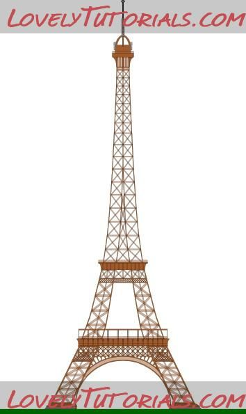 Eiffel tower templates | Sugar paste | Pinterest