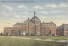 Formerly Halloran Hospital and Bayley Seton Hospital, Stapleton, Staten Island. Built originally as a veteran's hospital. Incorrectly shown on many sites as willowbrook institution which was in a totally different location on SI