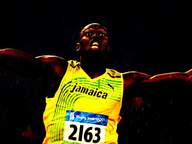 Usain Bolt Vivid