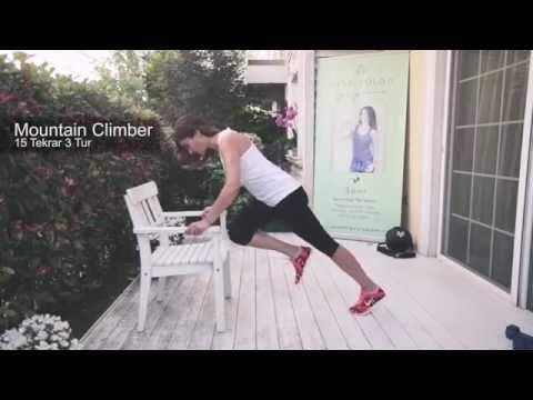 Ayşe Tolga ile Dümdüz Karın Egzersizleri - YouTube