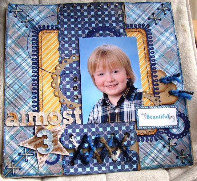 Scrap4fun Scrapbookatelier: A Boy's Life ~ Echopark ~