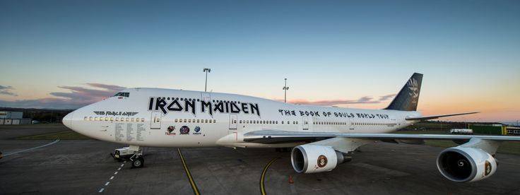 Iron Maiden World Tour Case Study | Air Charter Service