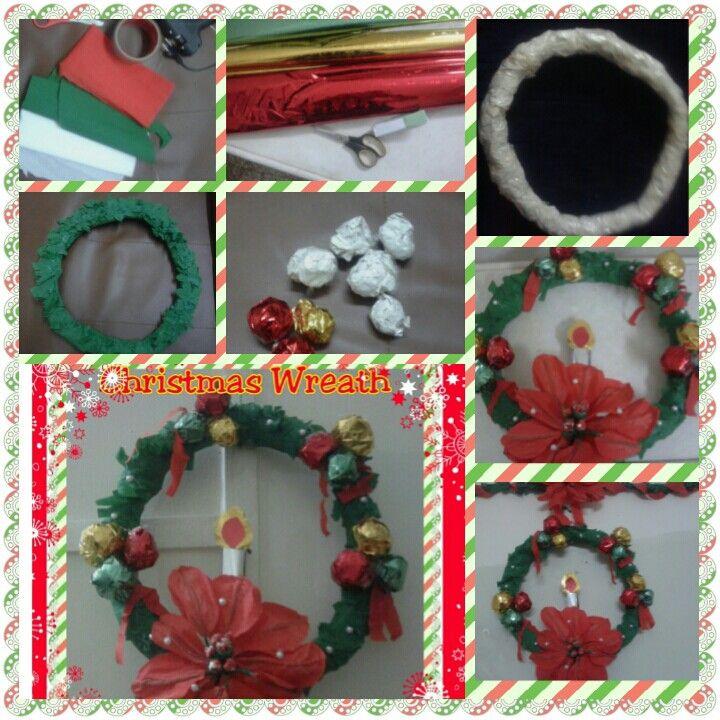 Quick tutorial Christmas wreath