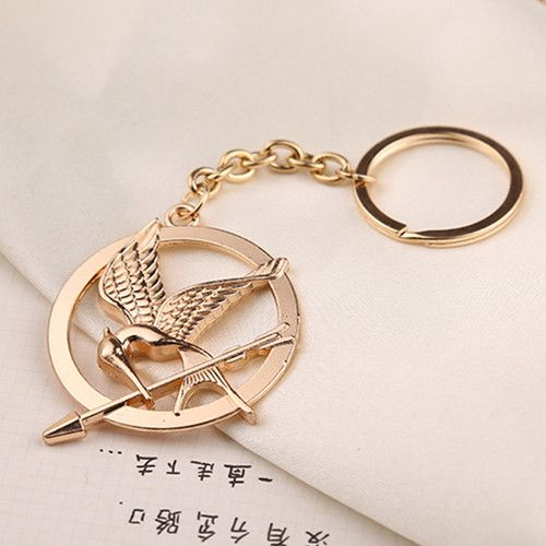 the hunger games keychain free shipping