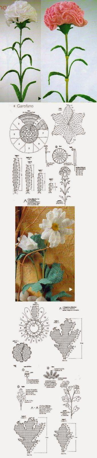 http://spaziolilla.blogspot.com.es/2014/03/fiori-alluncinetto-schemi-gratuiti-free.html