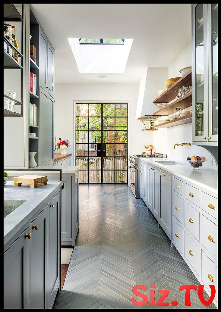 Make The Most Of Your Galley Kitchen With These Stylish Ideas Https Www Countrylivin Galley Kitchen Design Galley Kitchen Renovation Galley Kitchen Remodel