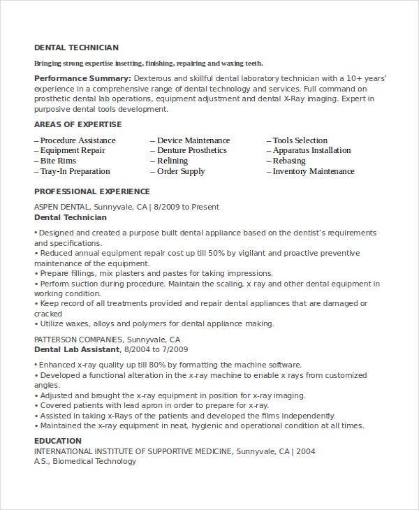 Resume Templates Lab Technician Resume Templates Job Resume Template Sample Resume Resume