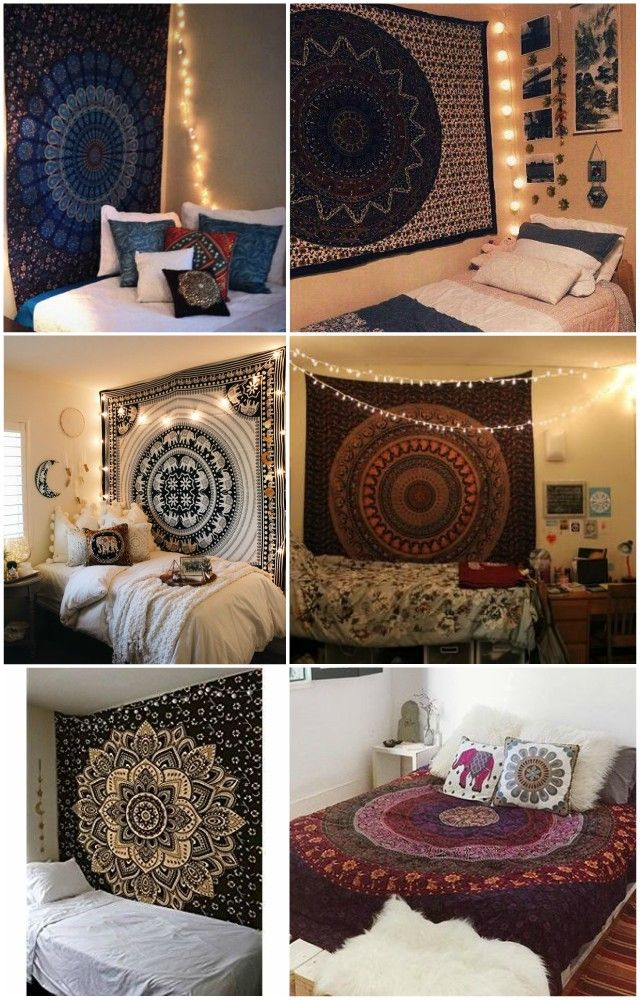 Mandala Tapestry Wall Hangings Is Perfect For Bohemian Bedroom