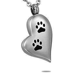 105 best dog cremation necklace images on pinterest cremation dog cremation urn necklace puppy dog paw on heart pendant keepsake memorial jewelry aloadofball Choice Image