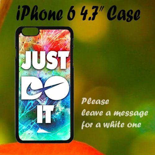 "New Nike Cracked Out Galaxy Nebula iPhone 6 4.7"" Case, Plastic Case, Best Case"