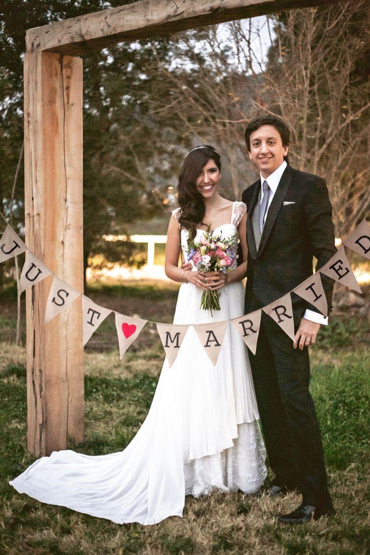 Banderín just married
