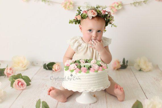 Neugeborene Blume Krone Baby Blume Krone Baby von FlowersLovers