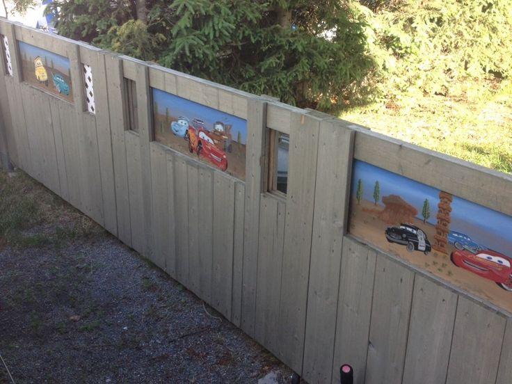 Michel Cloutier participe au décor CULTURAT   Plusieurs œuvres d'art réparties sur une superbe clôture que j'ai réalisée avec l'aide d'amis.