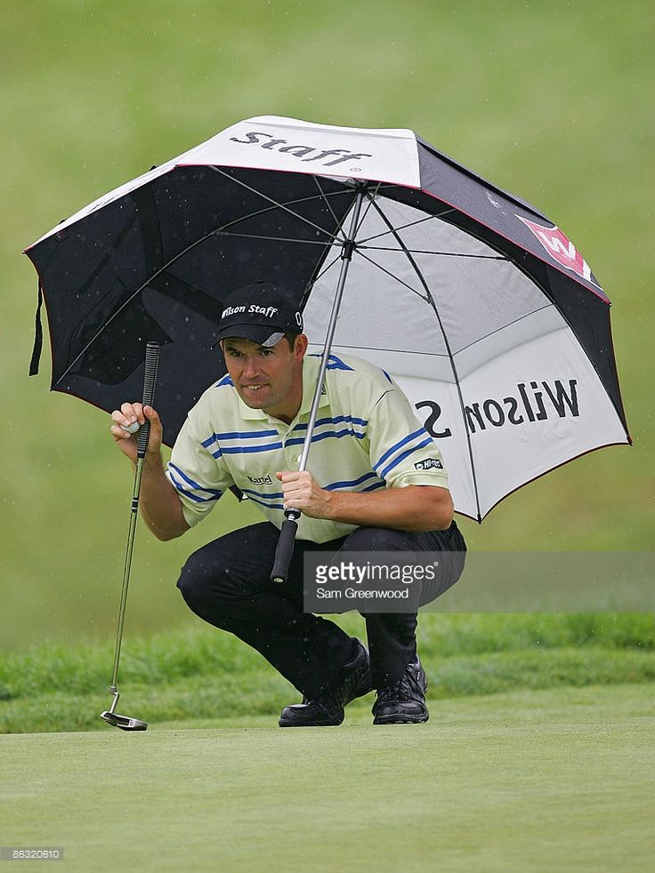 News Photo : Padraig Harrington during the first round of the...