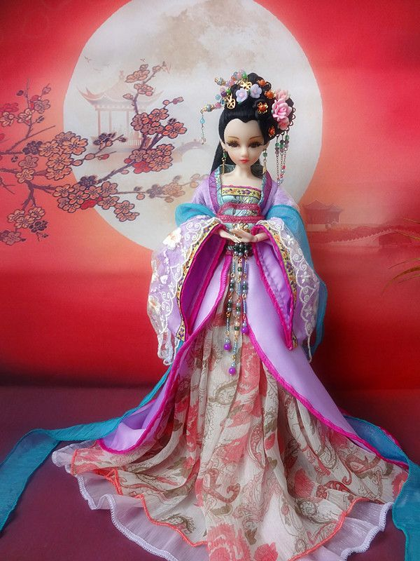"Find More Dolls Information about Free Shipping 12"" Vintage Collectible Chinese Dolls Princess Figurine Pretty Oriental Dolls Girl Toys For Valentine Day 340,High Quality doll stills,China toys 3 Suppliers, Cheap toy women from Paradise of  kids on Aliexpress.com"
