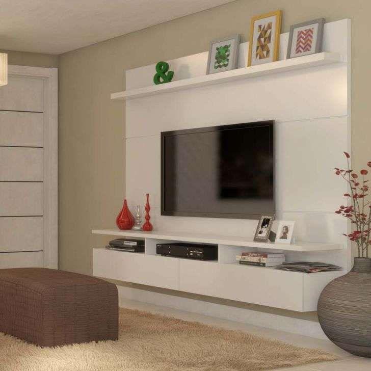 Painel Para Tv 60 Polegadas Zeus Branco Gloss 220 Cm Decoracao Sala De Tv Tv De Sala De Estar Moveis E Decoracao Sala