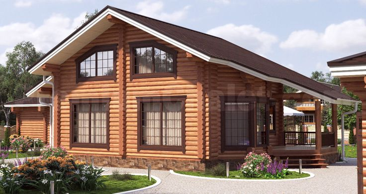 Проект деревянного дома — Охотничья романтика — ОР-170