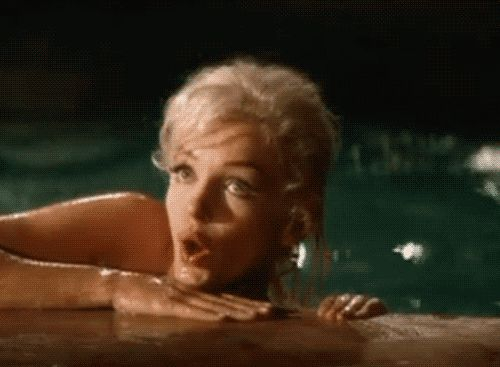 "Marilyn Monroe had a higher IQ (163) than that of Albert Einstein (160). This proves she was not just a ""dumb blonde"" as she was portrayed. Love this woman."