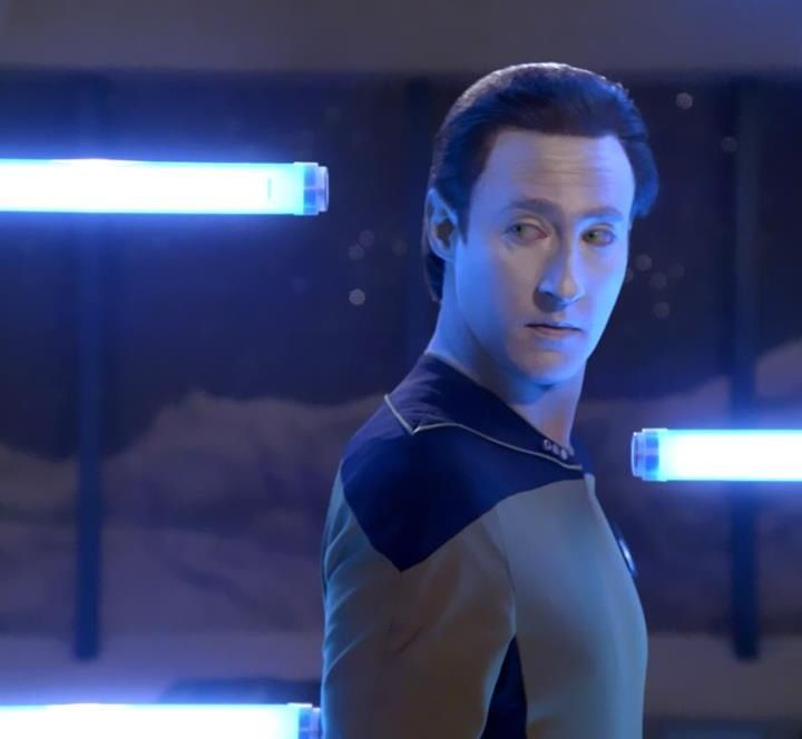 Lt. Commander Data from Star Trek (TNG) ~ Sorry about filling everyone's feed with Data. It's just that he's so Adorable I can't help it! XD