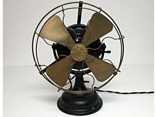 dating antique ge fans