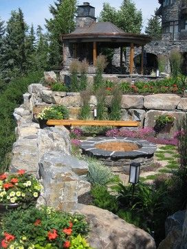 Ornamental Grass Design Ideas, Pictures, Remodel, And Decor   Page 85.  Fireplace DesignFirepit ...