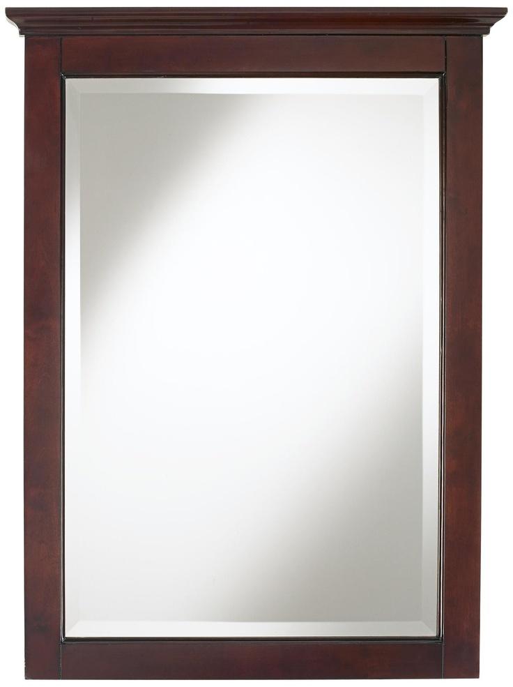 Image Of Crown Espresso Finish High Vanity Mirror LampsPlus