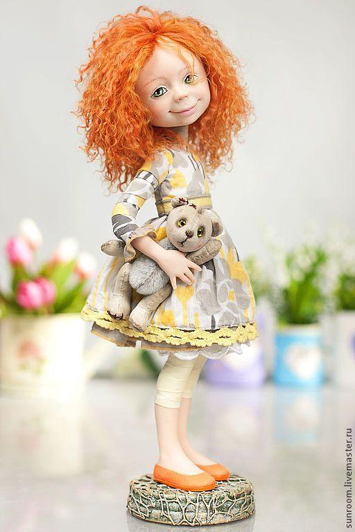 """Коллекционные куклы ручной работы. Ярмарка Мастеров - ручная работа По мотивам """"Любимая игрушка"""". Handmade."""