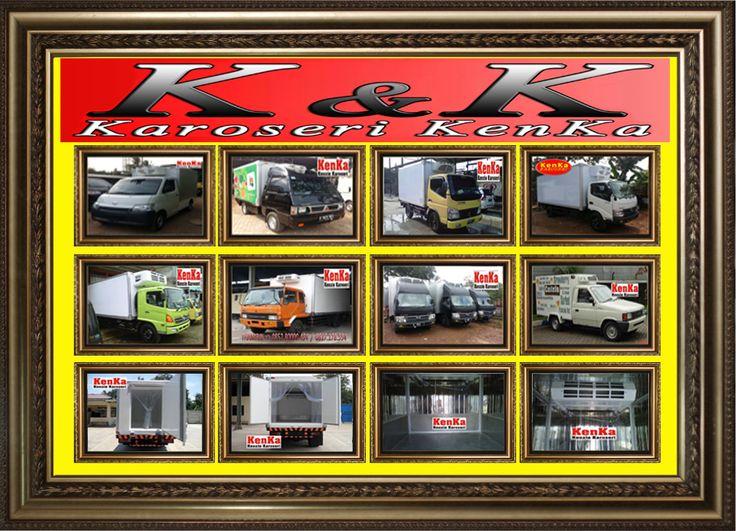 PEMBUAT MOBIL dan TRUCK BOX PENDINGIN >> KAROSERI KENKA