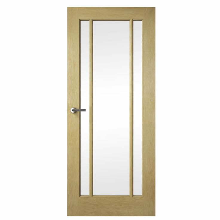 Premdor Wiltshire Oak Glazed Internal Door