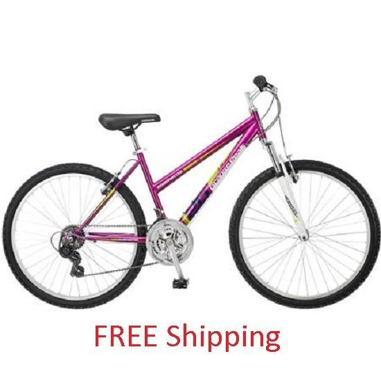 Ladies Mountain Bike Womens Cycling Road Bicycle New Mtb Sports 18Speed Around