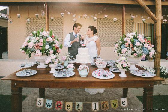 Mini Wedding em casa: Erin+André